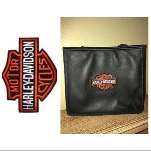 Harper Davidson leather shoulder bag